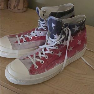 Converse Chuck Taylor flag sneakers
